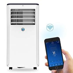 JHS 10,000 BTUs Portable Air Conditioner WIFI Remote Control