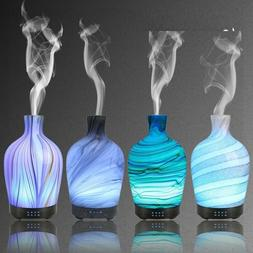 100ml Glass Aromatherapy Humidifier 7 Color Light Quiet Esse