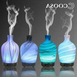 COOSA 100ml Glass Aromatherapy humidifier essential oil diff