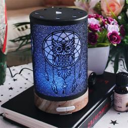 100ml Owl Pattern Electric Air Humidifier Ultrasonic Essenti