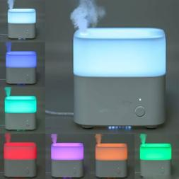 120ml LED Ultrasonic Aromatherapy Essential Oil Diffuser Fou