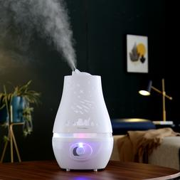 2.2L Room Humidifier 360° Cool Mist Diffuser Essential Oil