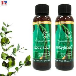 2 Essential Oil Eucalyptus Scent 60mL Aromatherapy Diffuser