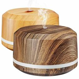 2 Pack 450ml Essential Oil Diffuser, BAXIA TECHNOLOGY Aromat
