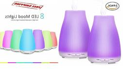 2 Pack Essential Oil Diffuser Aromatherapy Scent Air Ultraso