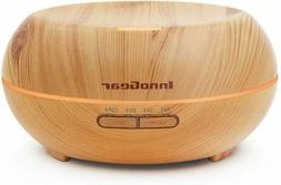 Innogear 200Ml Aromatherapy Essential Oil Diffuser Wood Grai