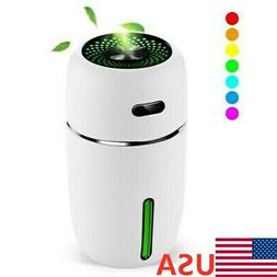 200ml LED Light-Up Air Oil Aroma Diffuser Humidifier Electri