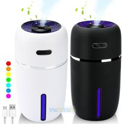 Quiet 7 LED Essential Oil Humidifier Aroma Air Aromatherapy