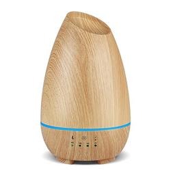 InnoGear 2018 500ml Aromatherapy Essential Oil Diffuser Wood