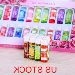 24x  Essential Oil Home Fragrance Set For Air Diffuser Aroma