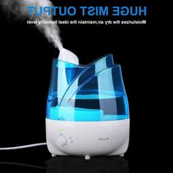 2L Ultrasonic Air Humidifier Purifier 7 Colors LED Quiet Coo
