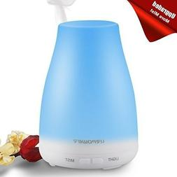 URPOWER 2nd Version Diffuser 100ml Aroma Essential Oil Cool