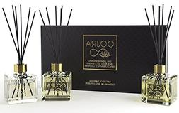 Oojra 3  Essential Oil Reed Diffusers Aromatherapy Gift Set;
