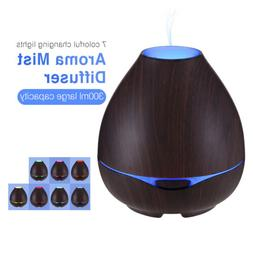 300ml Aroma Essential Oil Diffuser Ultrasonic Aromatherapy H