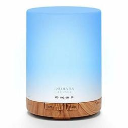 ASAKUKI 300ML Essential Oil Diffuser Quiet 5-in-1 Premium Hu