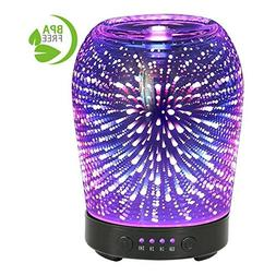 3D Aromatherapy Glass Essential Oil Diffuser COOSA 100ml Ult