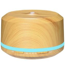 450ml wood grain essential oil diffusers large