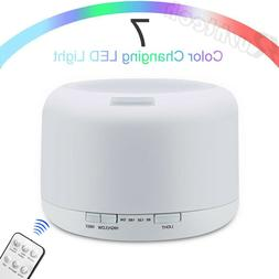 500ML Essential Oil Diffuser LED Humidifier Ultrasonic Aroma