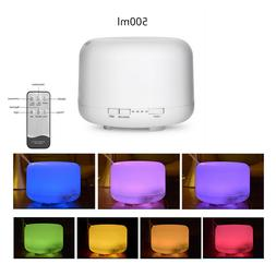 500ML Aroma Air 7 LED Essential Oil Diffuser Ultrasonic Arom