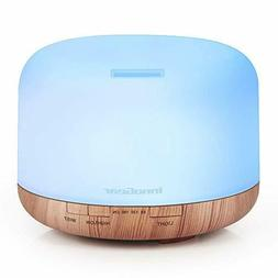 InnoGear 500ml Aromatherapy Essential Oil Diffuser Cool Mist
