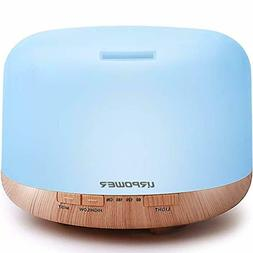 URPOWER OD-501 500ml Aromatherapy Essential Oil Diffuser Hum