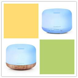 InnoGear 500ml Aromatherapy Essential Oil Diffuser with 4 Ti