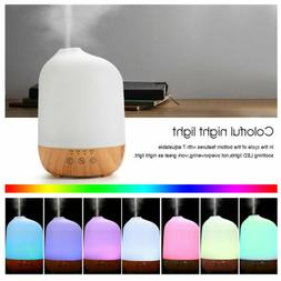 500ml Ultrasonic Humidifier Essential Oil Diffuser Aromather