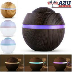 500ml Ultrasonic LED Aromatherapy Diffuser Essential Oil Air