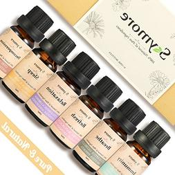 Skymore Top 6 Essential Oil Blend Gift Set, 100% Pure Aromat