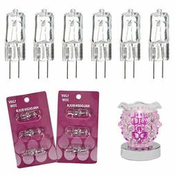 6 Pc Replace Halogen Bulb Electric Fragrance Diffuser Oil Wa