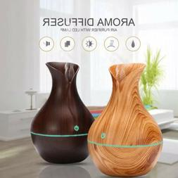 LED Ultrasonic Aroma Humidifier Essential Oil Diffuser Aroma