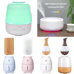 7-Color Home Aroma Essential Oil Diffuser Ultrasonic Aromath