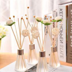 7 Scents Glass Bottles Fragrance Scented Oil Reed Diffuser S
