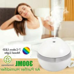 7LED Essential Oil Humidifier Purifier Aroma Air Aromatherap