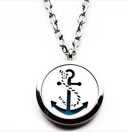 The Soul Vacation 'Anchor' Essential Oil Diffuser Necklace A