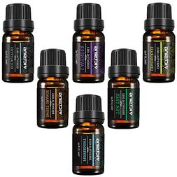 VicTsing Natural Essential Oils Set, Top 6 Pure Therapeutic