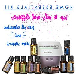 dōTERRA Amazing Starter Kit Top 10 Essential Oils and Diffu