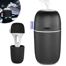 Aroma Essential Oil Diffuser Ultrasonic Aromatherapy Car USB