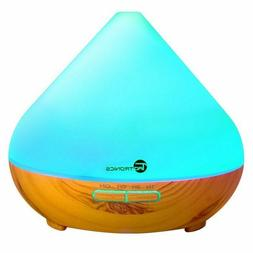 TaoTronics Aroma Diffuser-Wood Grain Base-Changeable Colored