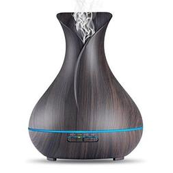 aroma essential oil diffuser 400ml ultrasonic cool
