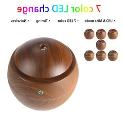 USB LED Humidifier Ultrasonic Essential Oil Diffuser Aroma A