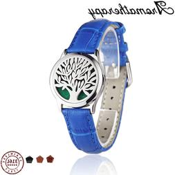 Aroma Leather Bracelet Watch Stainless Steel <font><b>Produc