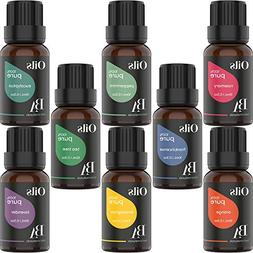 Bel Air Naturals Aromatherapy Essential Oils Set - 100% Pure