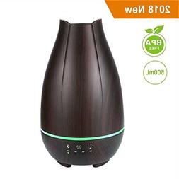 MARNUR Aromatherapy Essential Oil Diffuser, 500ml Ultrasonic