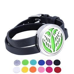 HOUSWEETY Aromatherapy Essential Oil Diffuser Bracelet-Stain