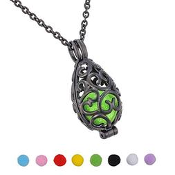 Housweety Aromatherapy Essential Oil Diffuser Necklace - Loc