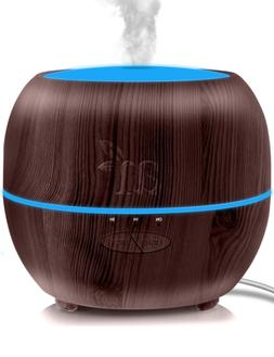 Artnaturals Essential Oil Diffuser Plus, Dark Brown, 13.5 Fl