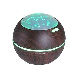 TOMNEW 150ML Aromatherapy Diffuser Ultrasonic Essential Oil
