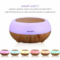 Aromatherapy Essential Oil Diffusers, 300ml Ultrasonic Air H