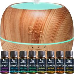 ArtNaturals Aromatherapy Essential Oil and Diffuser Set - 15